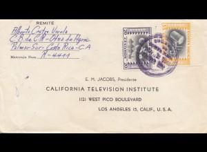 Costa Rica: 1955: Palmar Sur to Los Angeles - Television