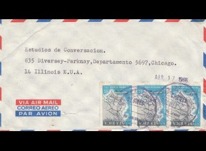 Costa Rica: 1966: Puntarenas to Chicago