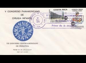 Costa Rica: 1976: San Jose, V. Congreso Panamericano Cirugia Infantil