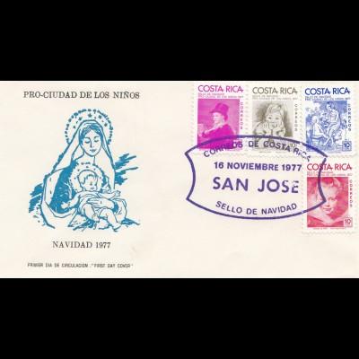 Costa Rica: 1977: Navidad San Jose