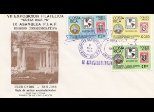 Costa Rica: 1976: VII Esposicion Filatelica San Jose