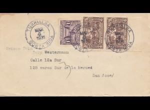 Costa Rica: 1931: Turrialba to San Jose