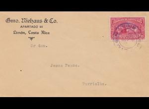 Costa Rica: 1930: Limon to Turrialba