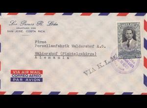 Costa Rica: 1953: San Jose to Waldershof