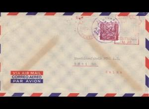 Costa Rica: 1963: San Jose to Rüti/Switzerland