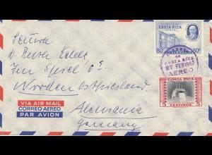 Costa Rica: 1962: Aero to Ostfriesland
