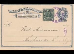 Costa Rica: 1920: post card Deutscher Verein San Jose