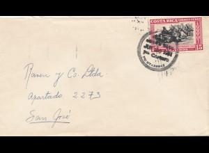 Costa Rica: 1951: Puntarenas to San Jose