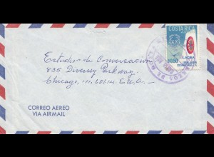 Costa Rica: 1966: letter to Chicago