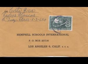 Costa Rica: 1955: San Jose to Los Angeles
