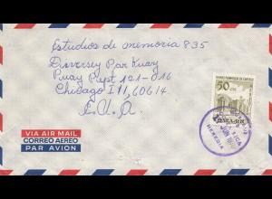 Costa Rica: 1970: Heredia to Chacago