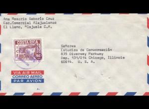 Costa Rica: 1970: El Llano Alajuela to Chicago