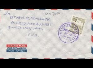 Costa Rica: San Jose to Chicago