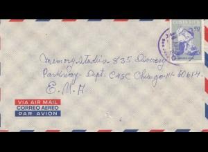 Costa Rica: 1966: San Jose to Chicago