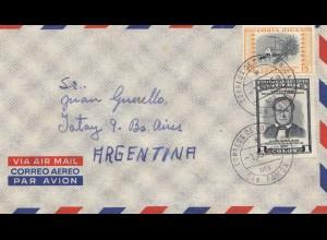 Costa Rica: 1959: San Ramon to Argentina
