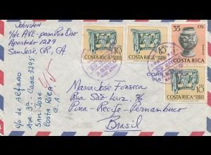Costa Rica: 1964: San Jose to Brasil