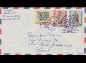 Costa Rica: 1964: San Jose to Pina-Recife Pernambuco