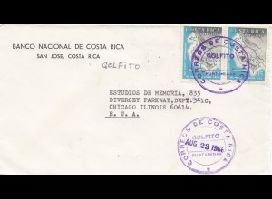 Costa Rica: 1968: San Jose to Chicago