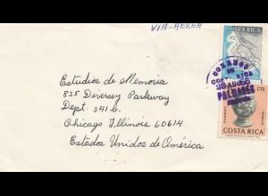 Costa Rica: 1966: Palmares to Chicago