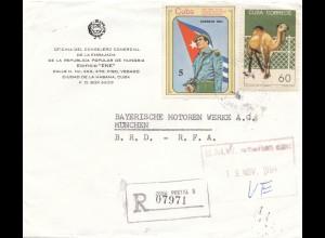 1984 Oficina del Consejero Comercial de la Embajada Hungaria/Hungary 1984 to BMW