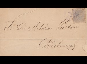1866: Letter to Cardenas, incl. Text