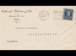 1921: Habana to Braunschweig