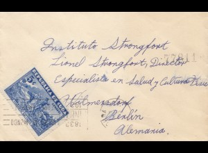 1933: letter to Berlin - Stronfort