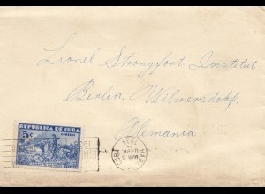 1934: letter to Berlin - Strongfort Institut
