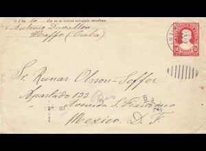 1913: letter to Mexico