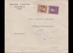1921: Habana registered to Leipzig-Rückmarsdorf