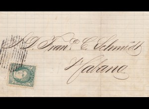 1870: small letter to Habana