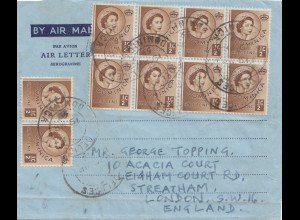 Domenikanische Republik: 1959: Air Mail to London