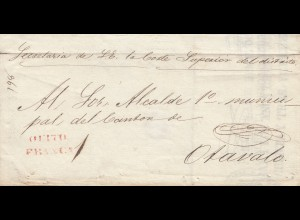 Ecuador: 1898: letter to Otavalo