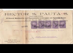 Ecuador: 1921: Guayaquil to Berlin