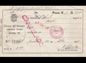 Ecuador: 1953: Ambato