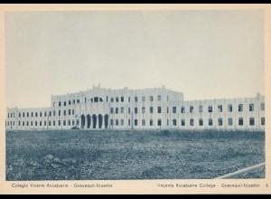 Ecuador: Post card Colegio Vicente Rocafuerte Guayaquil
