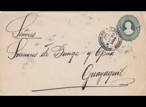 Ecuador: 1894: letter to Guayaquil