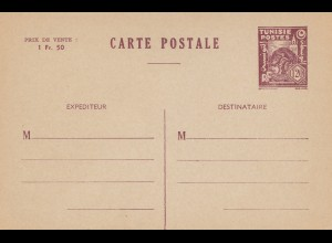 French colonies: Tunisie: carte postale