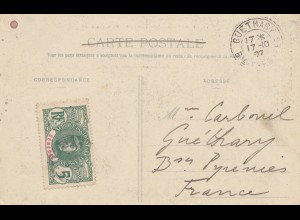 French colonies: Senegal 1927: post card Dakar to Guethary France