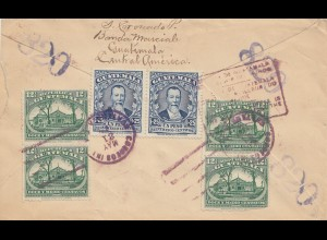 Guatemala: 1937: letter via Puerto Barrios to Hamburg, forwarede to Berlin