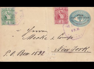 Guatemala: 1902: letter to New York