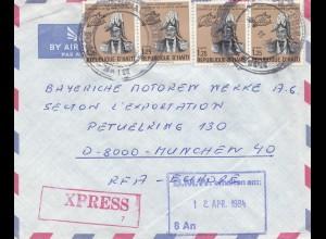 Haiti: 1984: Express to BMW München