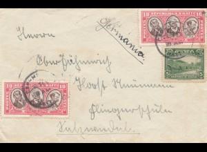 Haiti: letter to Germany, Fliegerschule Salzwedel