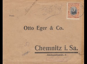Haiti: 1936 Port au Prince to Chemnitz, Zollamtlich geöffnet, Devisenüberwachung