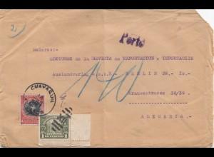 Haiti: 1921: Cuavaquil to Berlin
