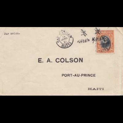 Haiti: 1951 Cap Rafflen to Port au Prince