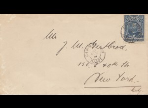 Haiti: 1921: letter to New York City