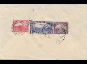 Haiti: 1938: Port au Prince Jena via New York