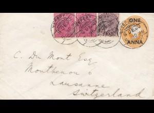 India: 1900 Vepery to Lausanne, Switzerland