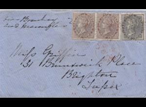 India 1898: letter to Brighton